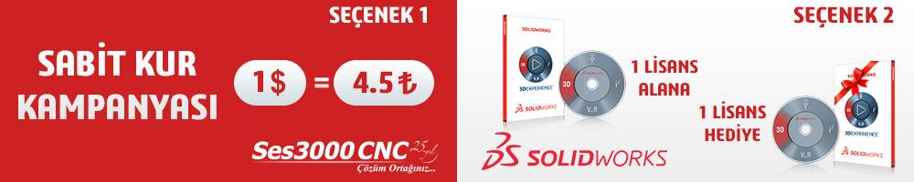 Enflasyonla Mücadeleye SES3000 CNC'den ÇİFTE DESTEK!!!