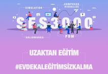 CORONA VİRÜSÜ SEBEBİYLE SES3000 UZAKTAN EĞİTİM VERMEKTEDİR.
